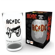 AC/DC Rock Large Glass