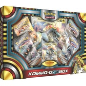 Ex-Display Pokemon TCG Kommo-O-GX Box Used - Like New