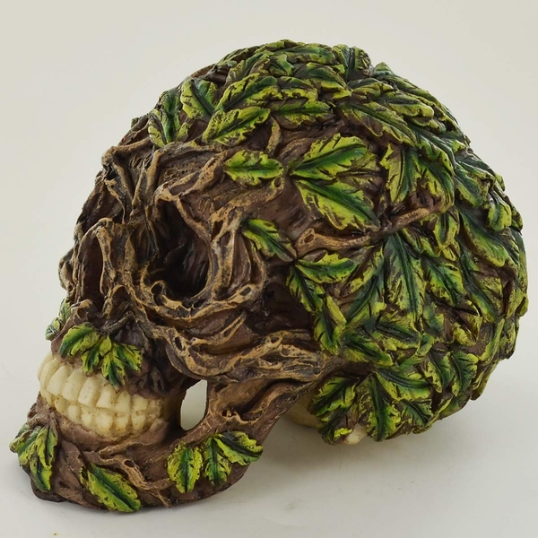 Greenman Leaf  Skull (Small)