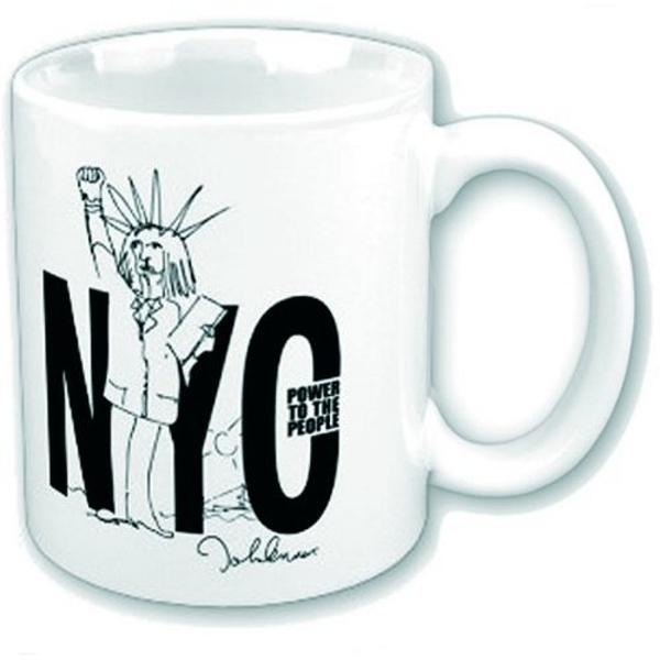 John Lennon - NYC Power to the People Boxed Standard Mug