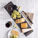 Slate Serving Platter with Handles | M&W Gold - Image 2