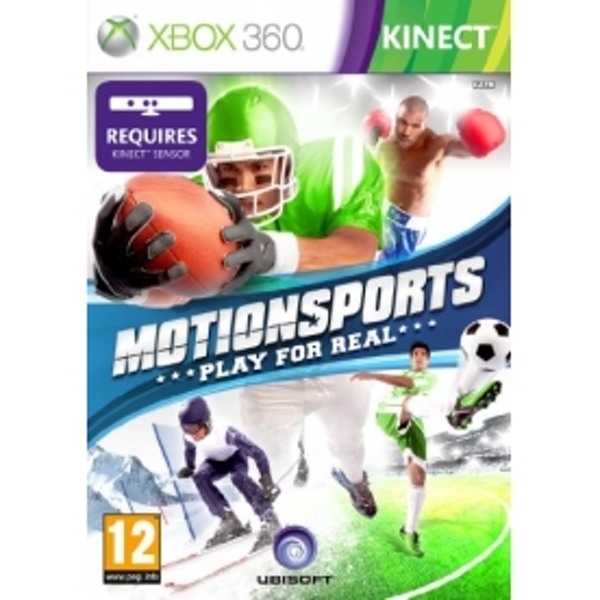 Motion Sports - Kinect Compatible Game Xbox 360