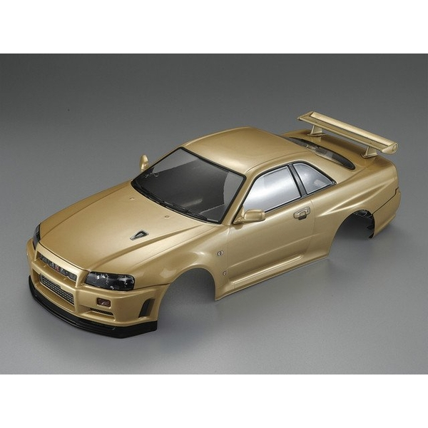 Killerbody Nissan Skyline R34 195Mm Finished Body-Gold
