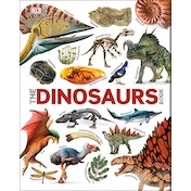 The Dinosaurs Book by DK, John Woodward (Hardcover, 2018)