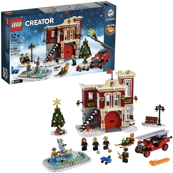 LEGO Creator - Winter Village Fire Station [Damaged Packaging]