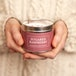 Sugared Raspberry (Pastels Collection) Tin Candle - Image 3