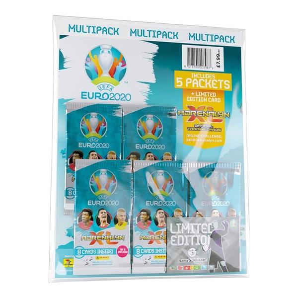 UEFA Euro 2020 Adrenalyn XL Trading Card Multipack