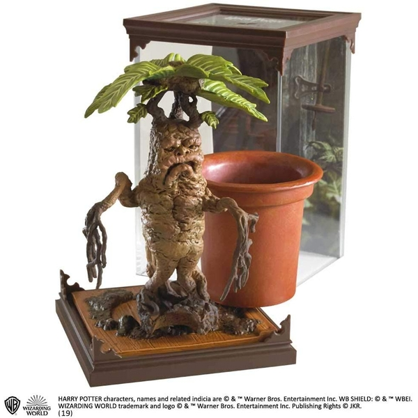 Mandrake (Harry Potter) Magical Creatures Noble Collection - Image 1