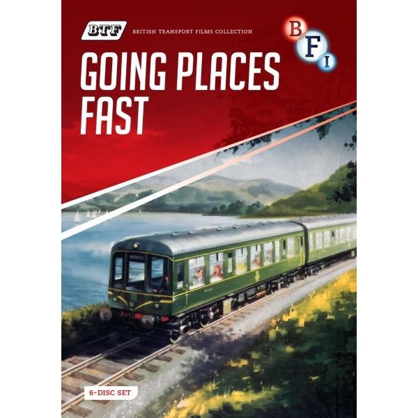 British Transport Films Collection: Going Places Fast DVD