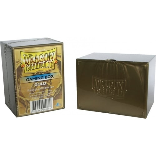 Dragon Shield Gaming Box - Gold Board Game