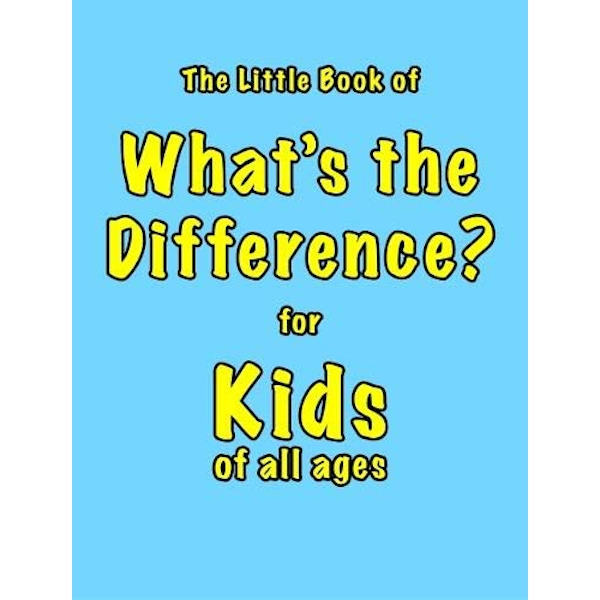 The Little Book of What's the Difference  Paperback / softback 2018