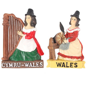 Welsh Lady Magnet