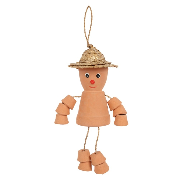Small Terracotta Pot Man