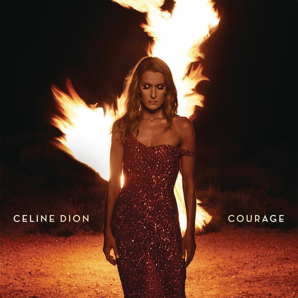 Celine Dion - Courage Limited Edition Red Vinyl