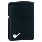 Zippo Pipe Lighter Black Matte Lighter
