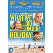 What We Did On Our Holiday DVD
