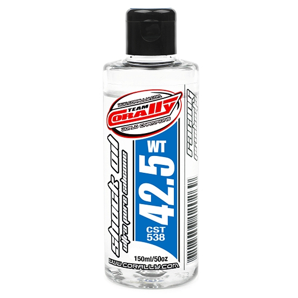 Corally Shock Oil Ultra Pure Silicone 42.5 Wt 150Ml
