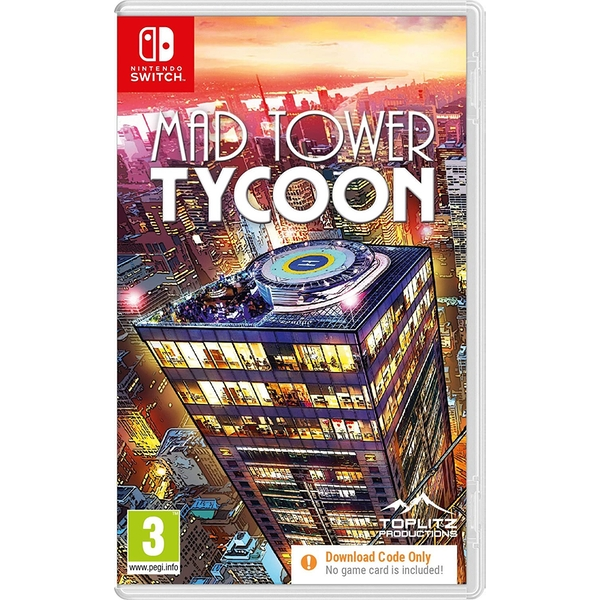 Mad Tower Tycoon Nintendo Switch Game [Code in a Box]