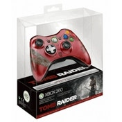 Official Tomb Raider Red Limited Edition Wireless Controller Xbox 360