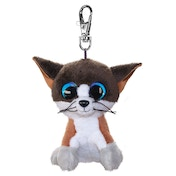 Lumo Stars Mini Keyring - Cat Forest Plush Toy
