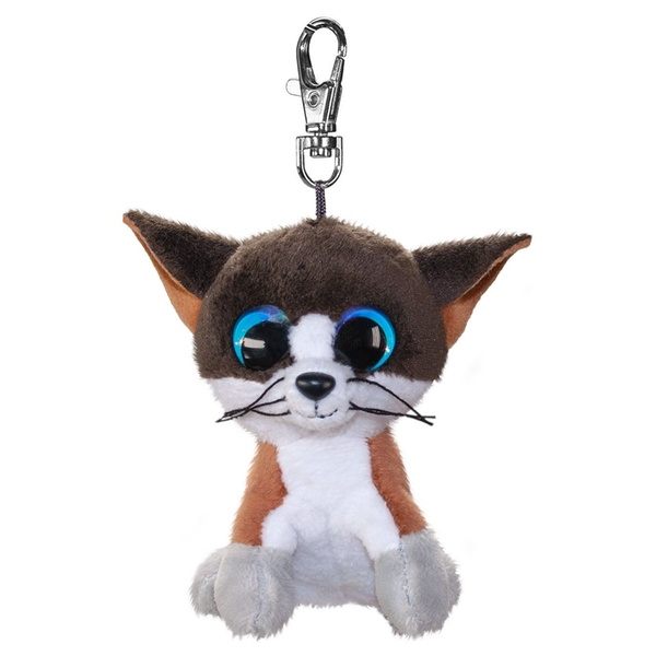 Lumo Stars Mini Keyring - Cat Forest Plush Toy - Image 1