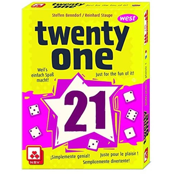 Twenty One Dice Game