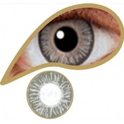 Pearl Grey 3 Month Natural Coloured Contact Lenses (MesmerEyez)