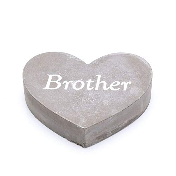 Thoughts Of You Graveside Concrete Heart - Brother