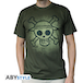 One Piece - Skull With Map Used Men's X-Large T-Shirt - Green - Image 2