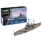 HMS King George V 1:1200 Revell Model Kit