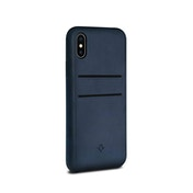 Twelve South Relaxed Leather Case for iPhone X/Xs Indigo