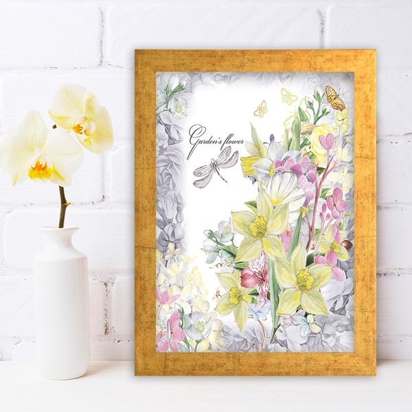 AC230219452 Multicolor Decorative Framed MDF Painting