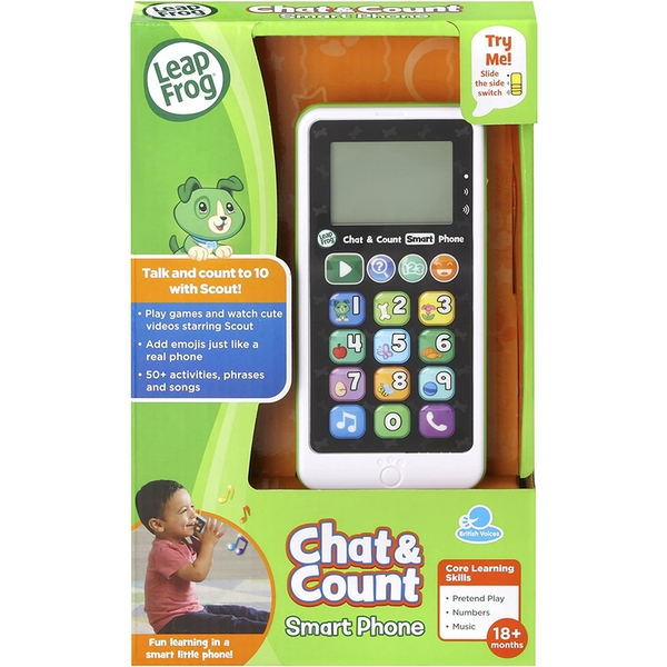 Leapfrog Chat & Count Smart Phone - Scout