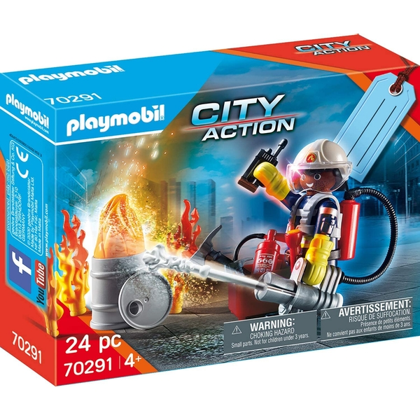 Playmobil Fire Rescue Playset