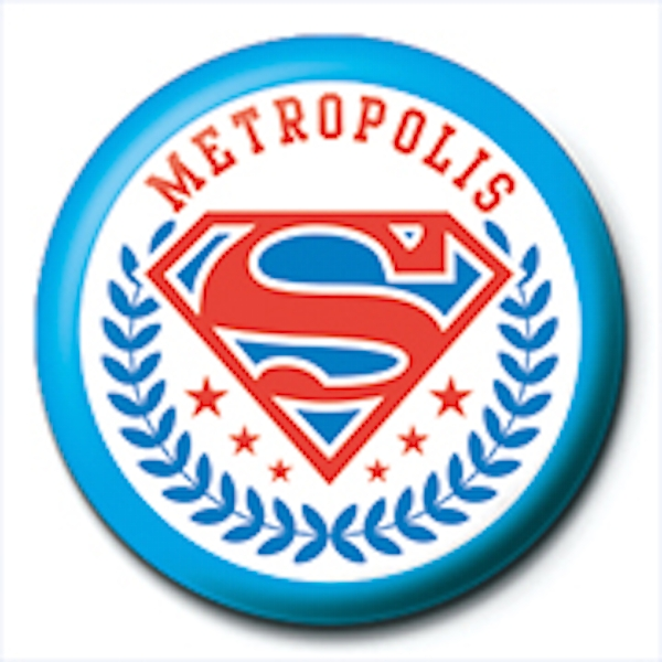 Superman - Metropolis Badge