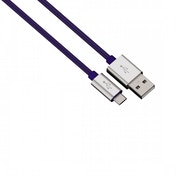 Hama Color Line (Blue) Charging/Sync Cable Micro USB aluminium 1m