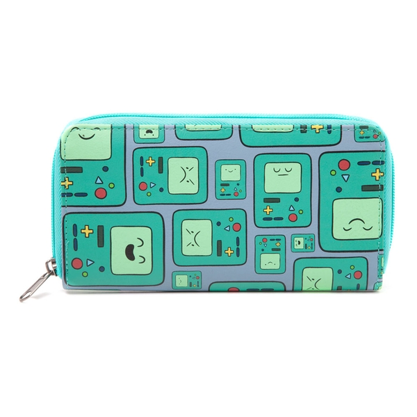 Adventure Time - Beemo Video Games Console All-Over Pattern Women's Wallet - Multi-Colour