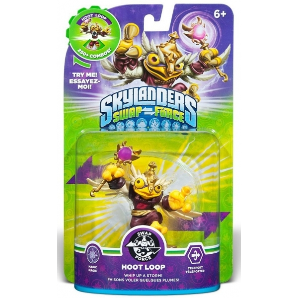 Enchanted Hoot Loop (Skylanders Swap Force) Swappable Magic Character Figure