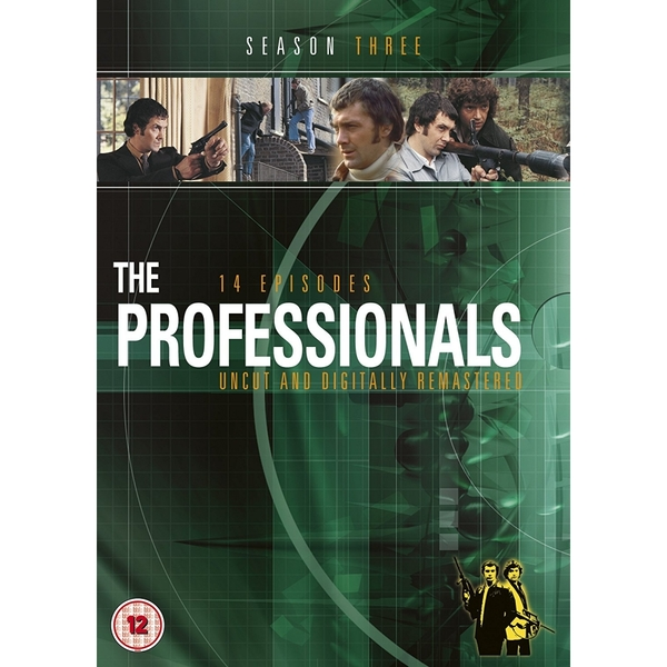 The Professionals - Series 3 (New Packaging) DVD