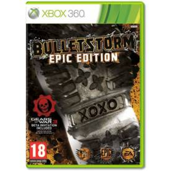 Bulletstorm Epic Edition Game Xbox 360