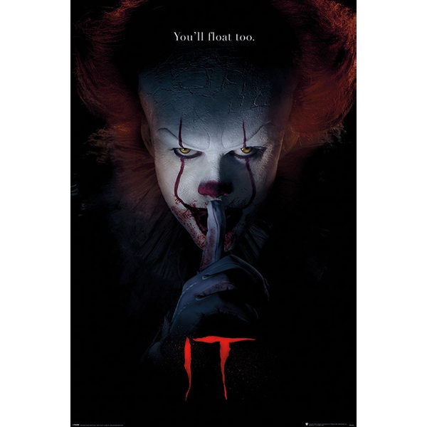 IT - Pennywise Hush Maxi Poster