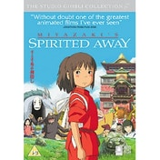 Spirited Away 2001 DVD