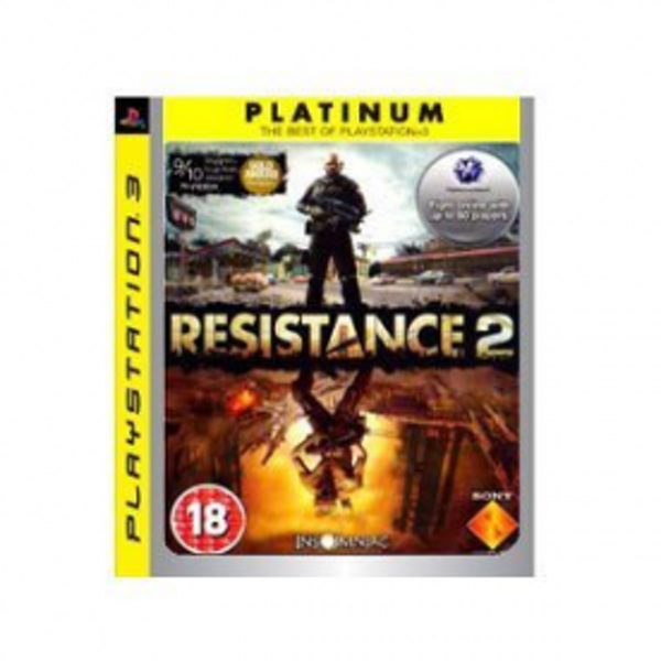 Resistance 2 Game (Platinum) PS3 - Image 1