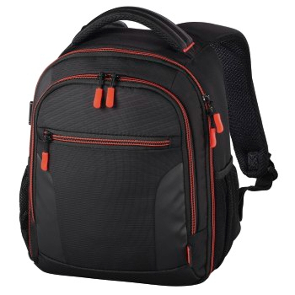 "Hama ""Miami"" Camera Backpack, 150, black/red"