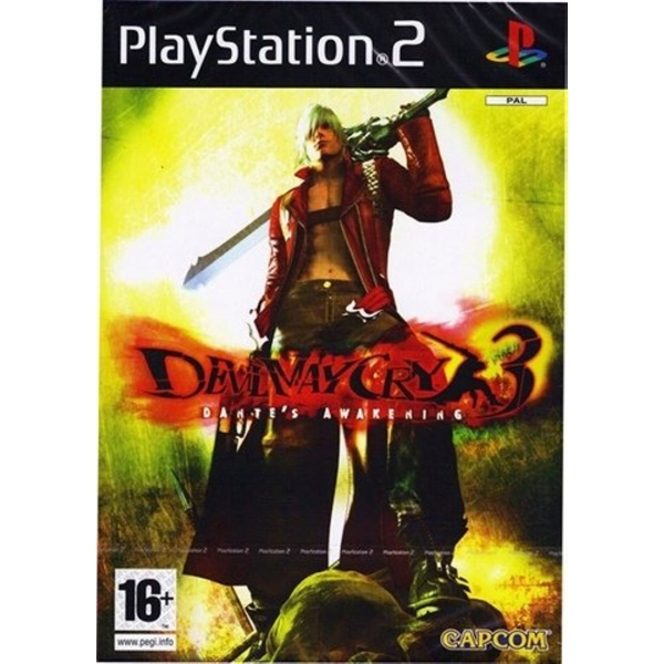 Devil May Cry 3 Dantes Awakening Game PS2 [Used]