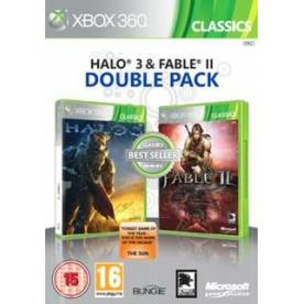 Halo 3 and Fable II 2 Double Pack (Classics) Xbox 360