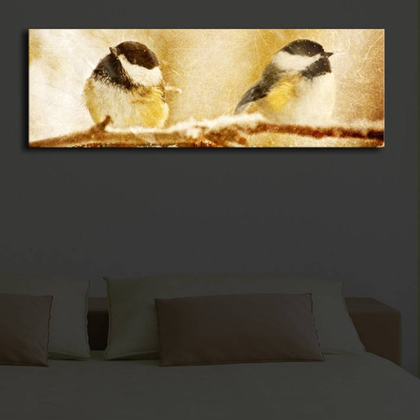 3090?ACT-23 Multicolor Decorative Led Lighted Canvas Painting