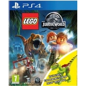 Lego Jurassic World Toy Edition PS4 Game (with Gallimimus Dinosaur)