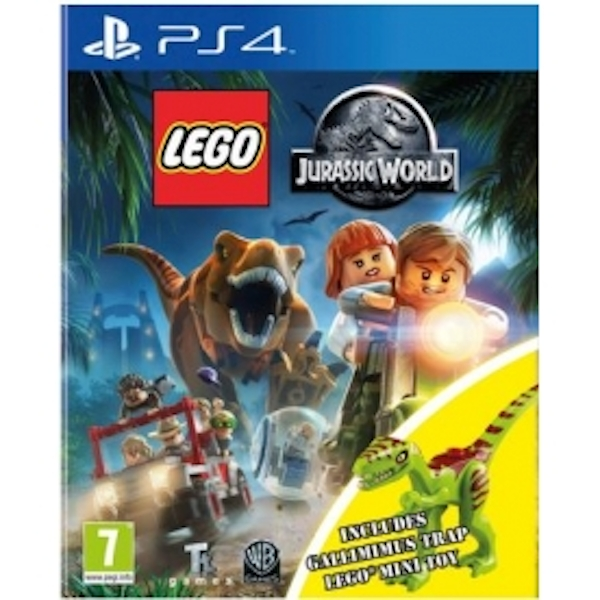 Lego jurassic world toy edition ps4 game with gallimimus dinosaur - Jeux lego dino ...