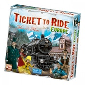 Ex-Display Ticket to Ride Europe Board Game Used - Like New